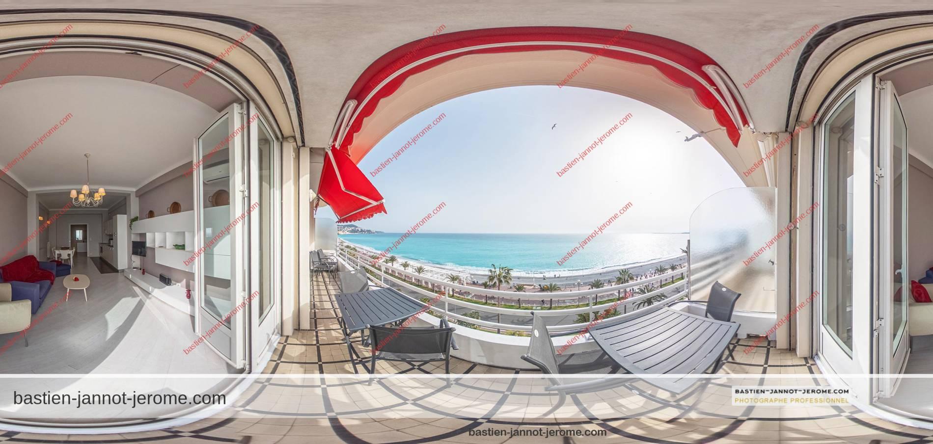 photographe visite virtuelle 360 Nice cote d'azur